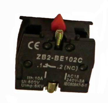 Contact block for switch - 250 V / AC / 3A NO closers
