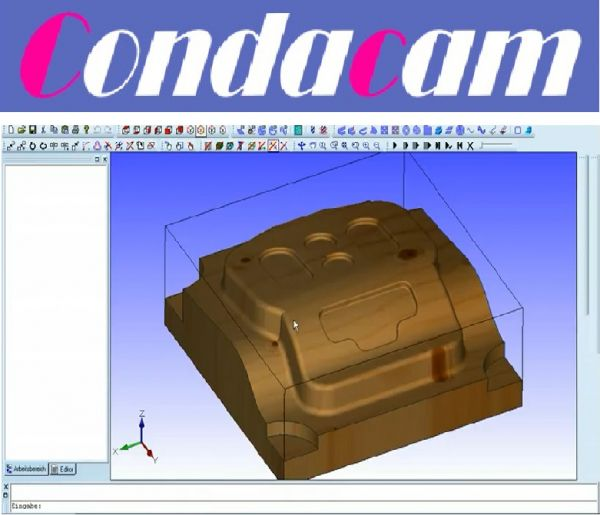 Software CondaCam CNC-Software - 3er-Pack -Lizenz Vollwersion - Bestellung